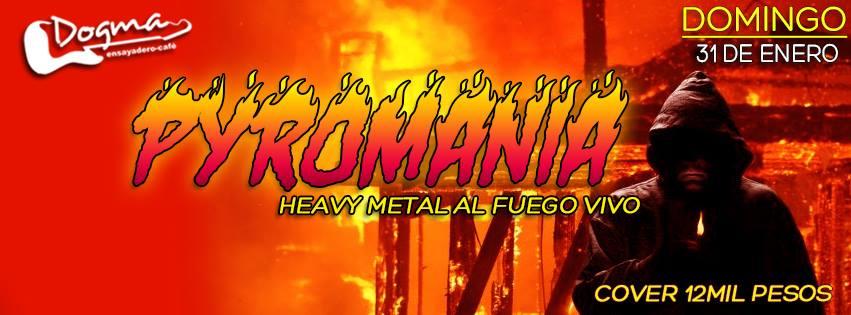 Pyromania Heavy Metal Al Fuego